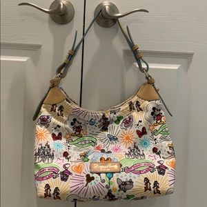 Disney Dooney & Bourke sketch shoulder bag